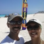 Ready to parasail in Cancun.