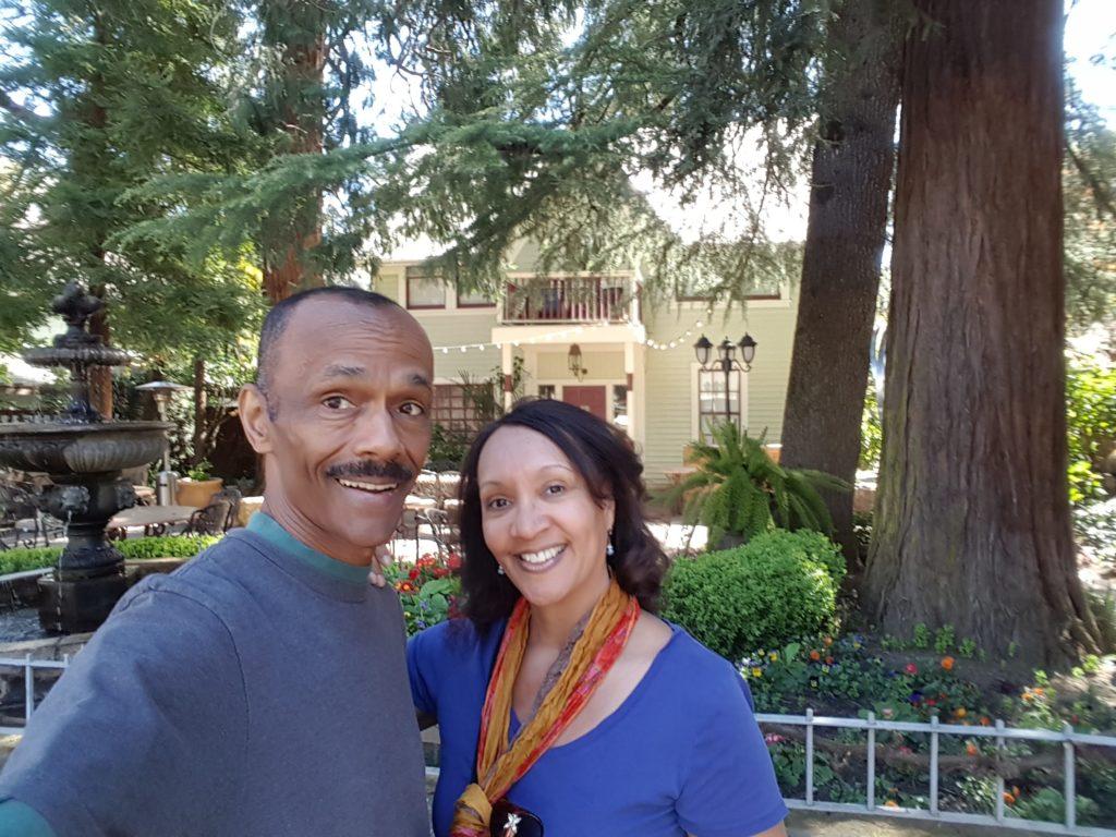 On our stroll through Calistoga